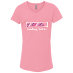 Loading Sass... Girls' Princess V-Neck Tee