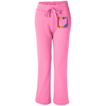 Ohio Pride Women's Open Bottom Sweatpants with Pockets