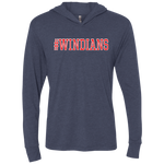 Windians Unisex Triblend Hooded Tee