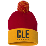 CLE Apparel Pom Pom Knit Cap