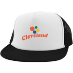Cleveland Orbs Trucker Hat with Snapback