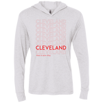 Have a nice day Cleveland Unisex Triblend Hooded Tee