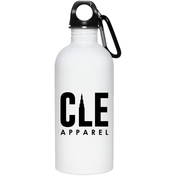 CLE Apparel 20 oz Stainless Water Bottle
