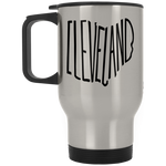 Ohio Cleveland Stainless Travel Mug
