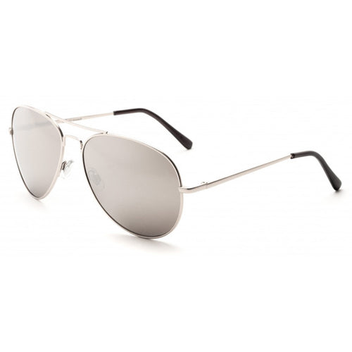 CLE Apparel Mirrored Aviator Sunglasses