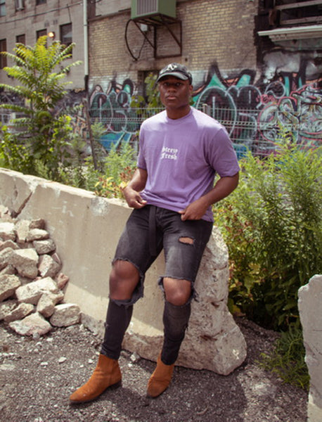Lavender Style Ease T-shirt