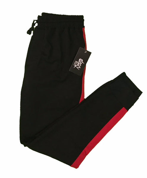 Red-Stripe Joggers