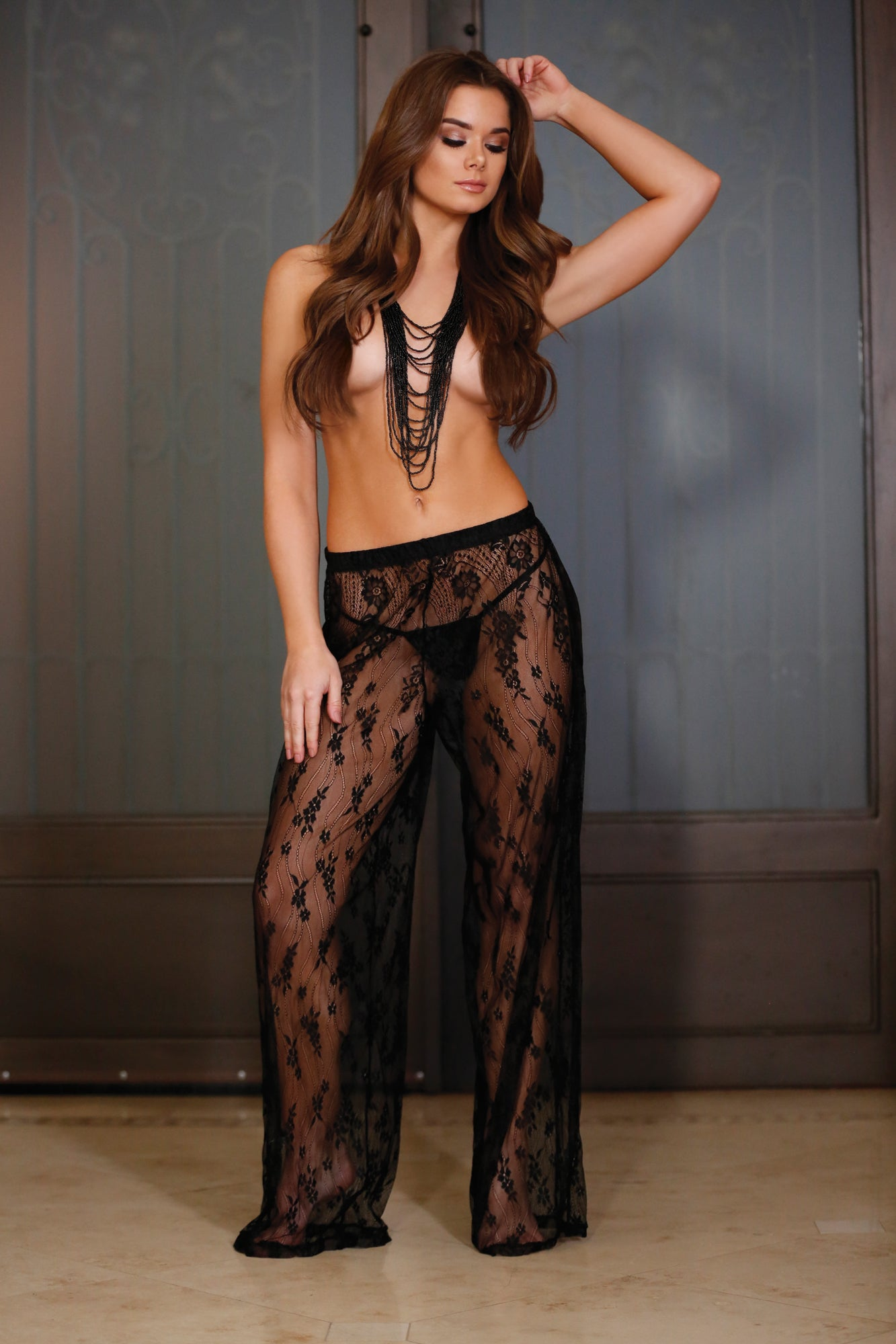WANDERLUST LACE PANTS