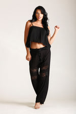 MOONLIGHT GAUZE TOP