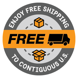 Enjoy free shipping to the contiguous United States (Lower 48)
