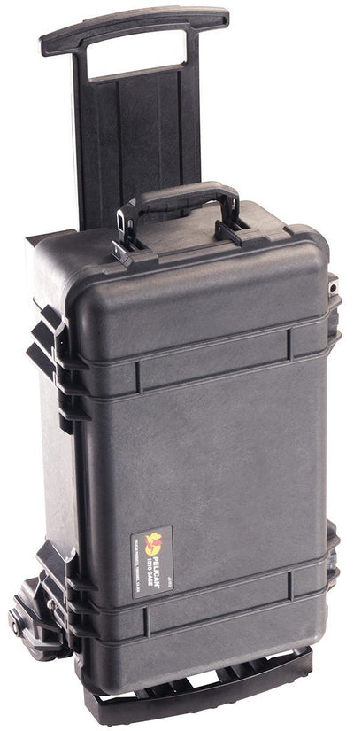 Black Pelican 1510 with Mobility Kit and with foam - Pelican Color Case