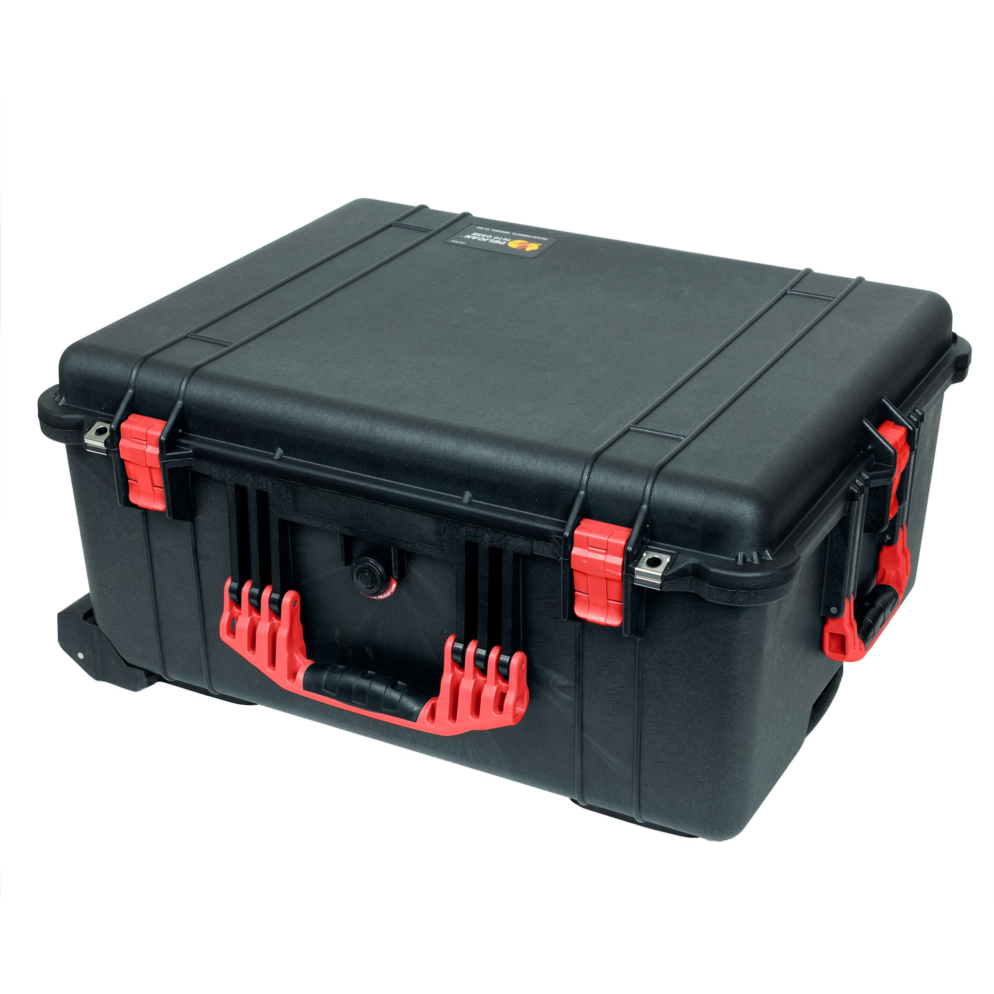 Pelican 1620 Case, Black with Red Handles & Latches