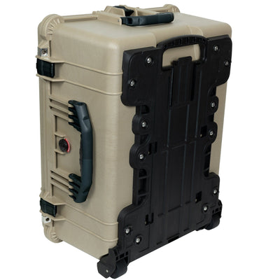 Pelican 1610 Case, Desert Tan with Black Handles and Latches