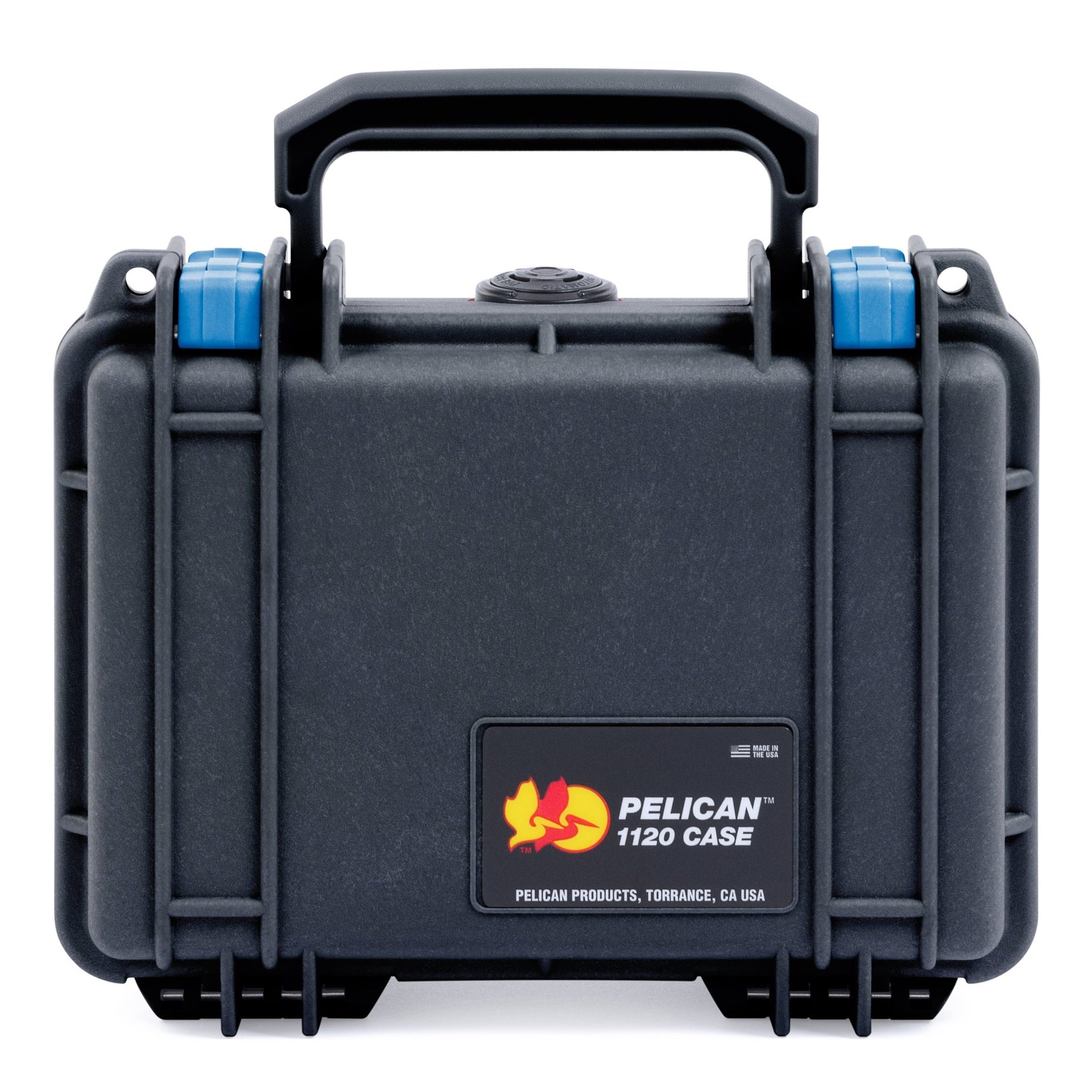 Pelican 1120 Case, Black with Blue Latches - Pelican Color Case