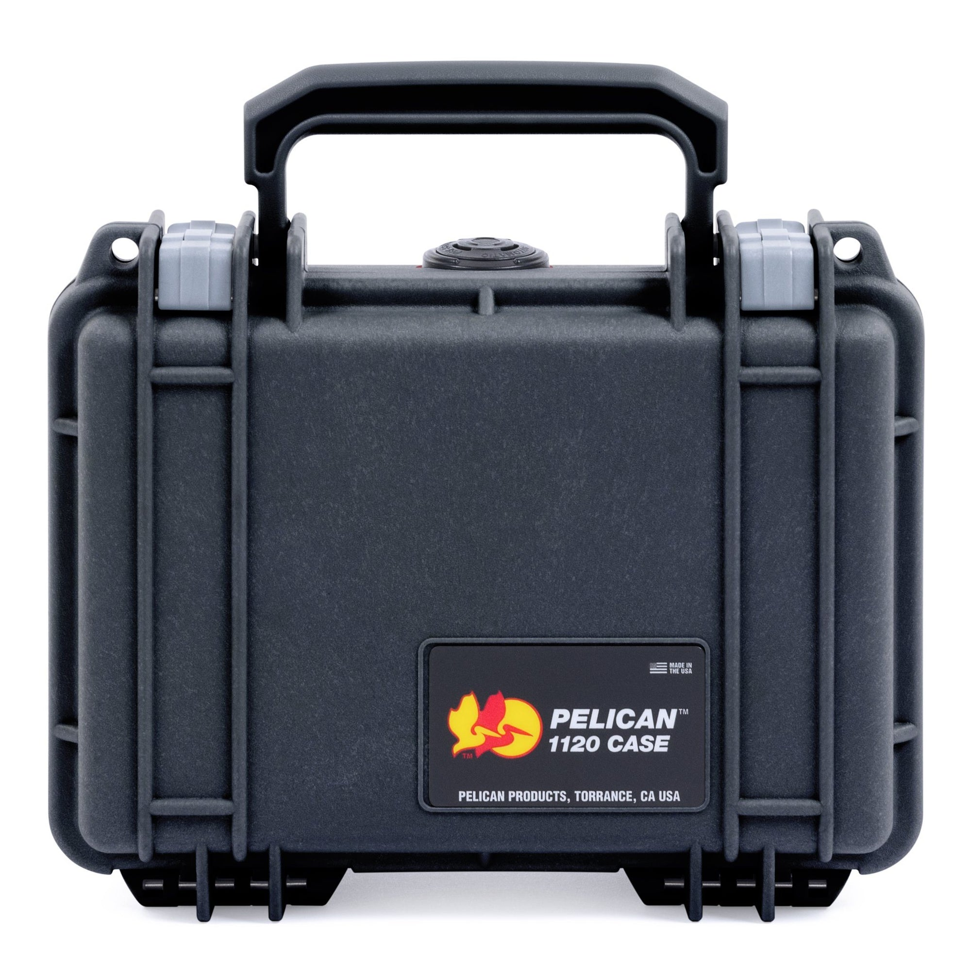 Pelican 1120 Case, Black with Silver Latches - Pelican Color Case