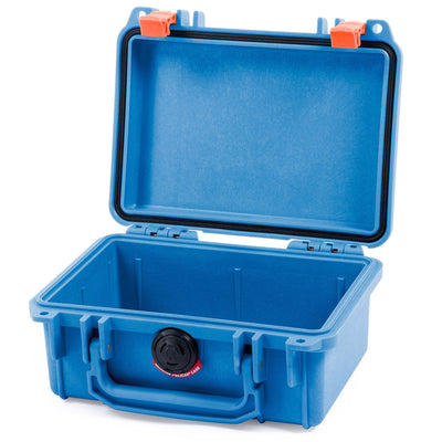 Pelican 1120 Case, Blue with Orange Latches - Pelican Color Case