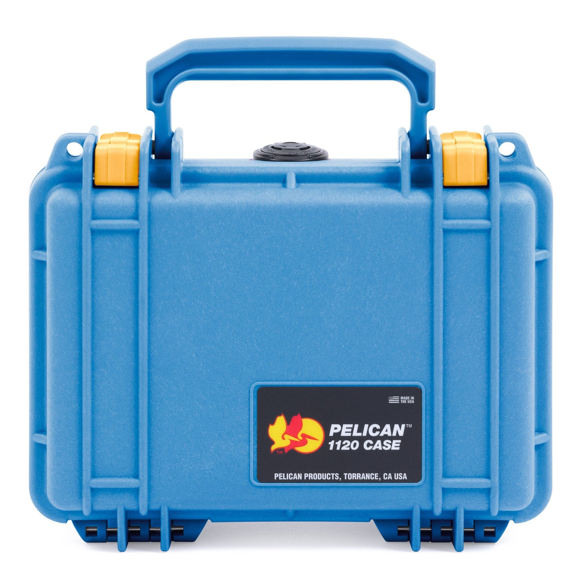 Pelican 1120 Case, Blue with Yellow Latches - Pelican Color Case