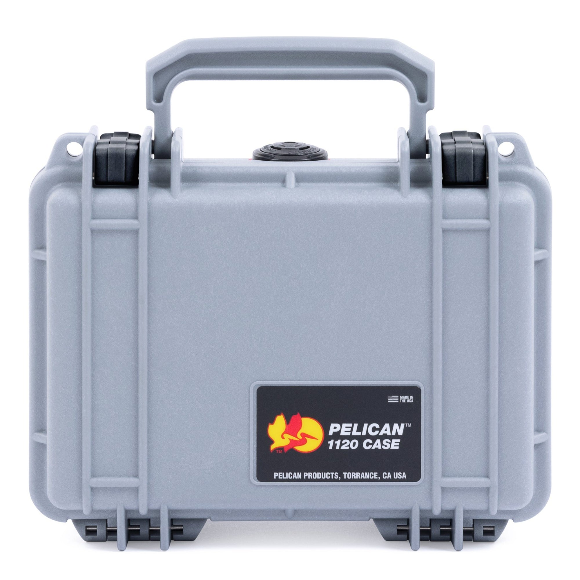 Pelican 1120 Case, Silver with Black Latches - Pelican Color Case