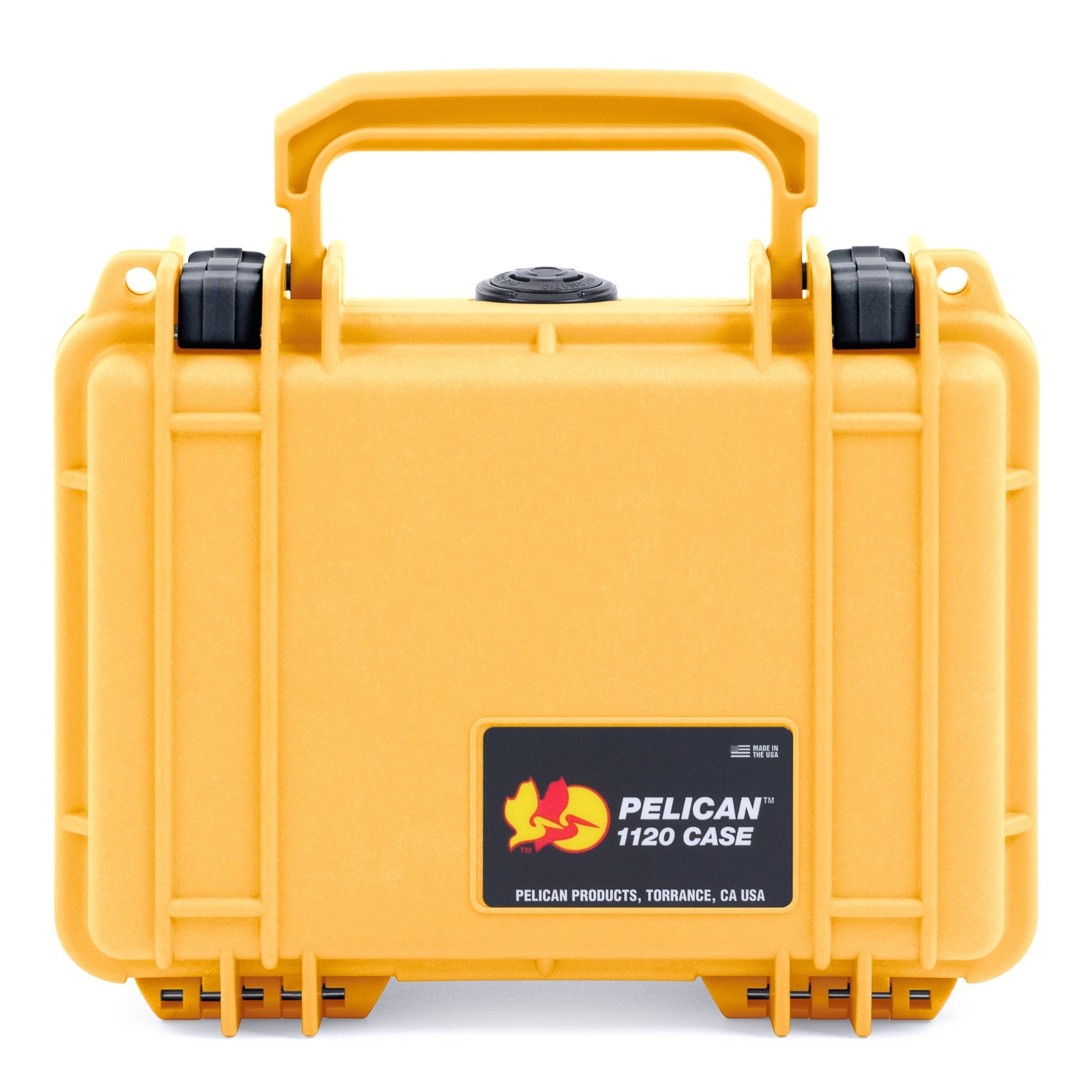 Pelican 1120 Case, Yellow with Black Latches - Pelican Color Case