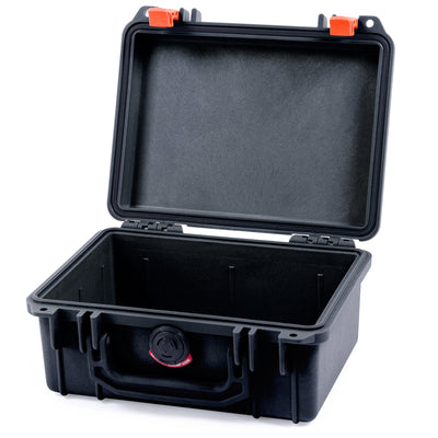 Pelican 1150 Case, Black with Orange Latches - Pelican Color Case