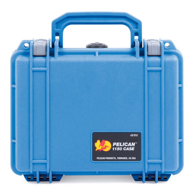Pelican 1150 Case, Blue with Silver Latches - Pelican Color Case