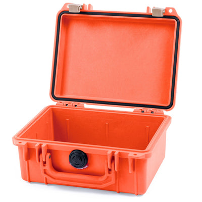 Pelican 1150 Case, Orange with Desert Tan Latches - Pelican Color Case