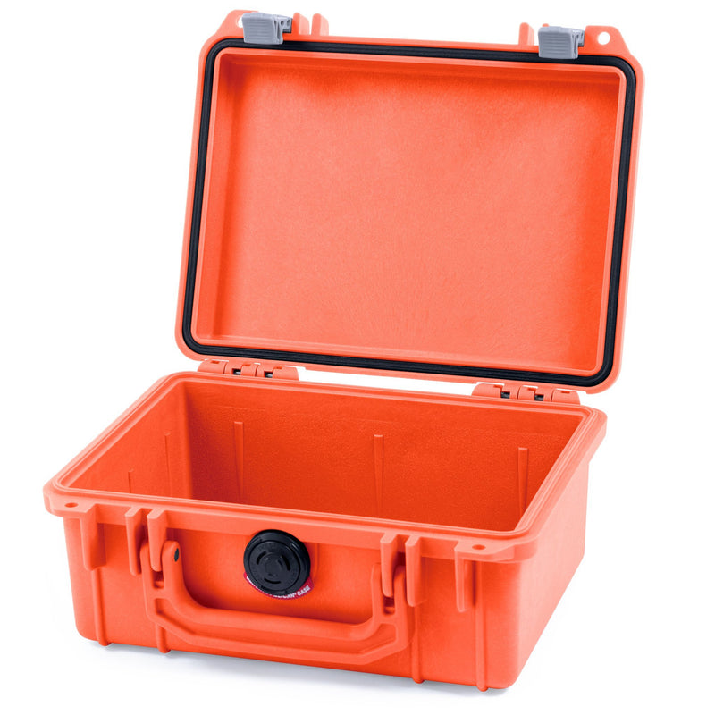 Pelican 1150 Case, Orange with Silver Latches - Pelican Color Case