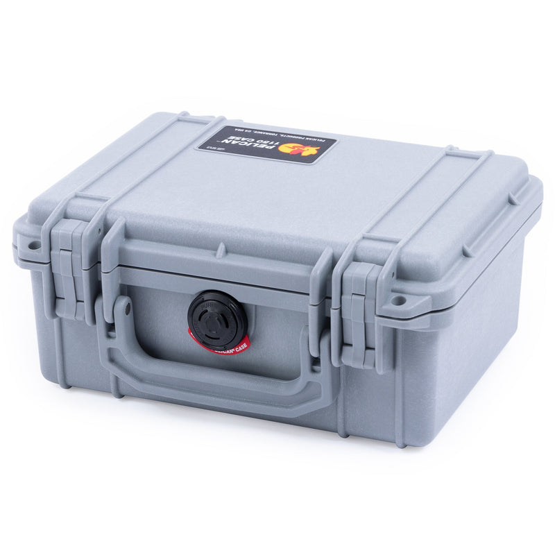 Pelican 1150 Case, Silver - Pelican Color Case