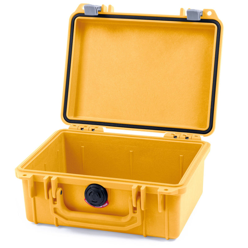Pelican 1150 Case, Yellow with Silver Latches - Pelican Color Case
