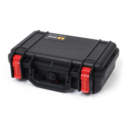 Pelican 1170 Case, Black with Red Latches - Pelican Color Case