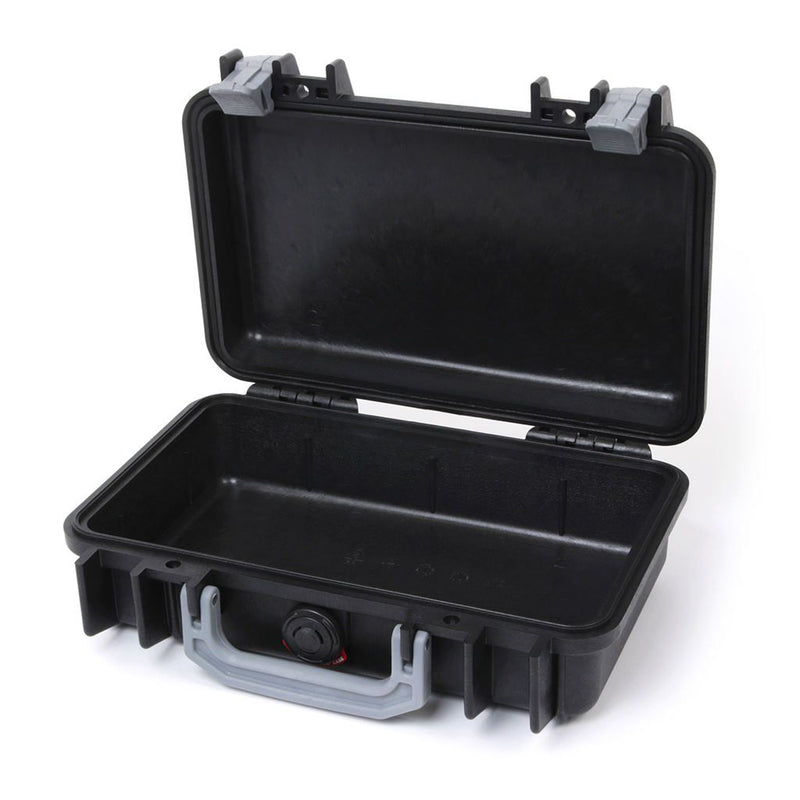 Pelican 1170 Case, Black with Silver Handle & Latches - Pelican Color Case
