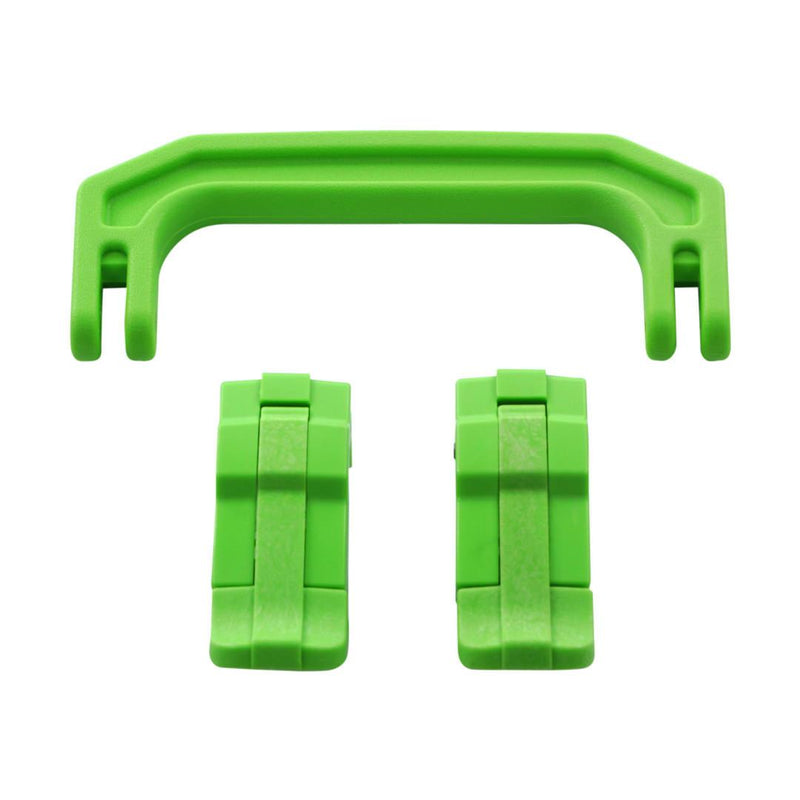 Lime Green Replacement Handle & Latches for Pelican 1170, One Lime Green Handle, 2 Lime Green Latches - Pelican Color Case