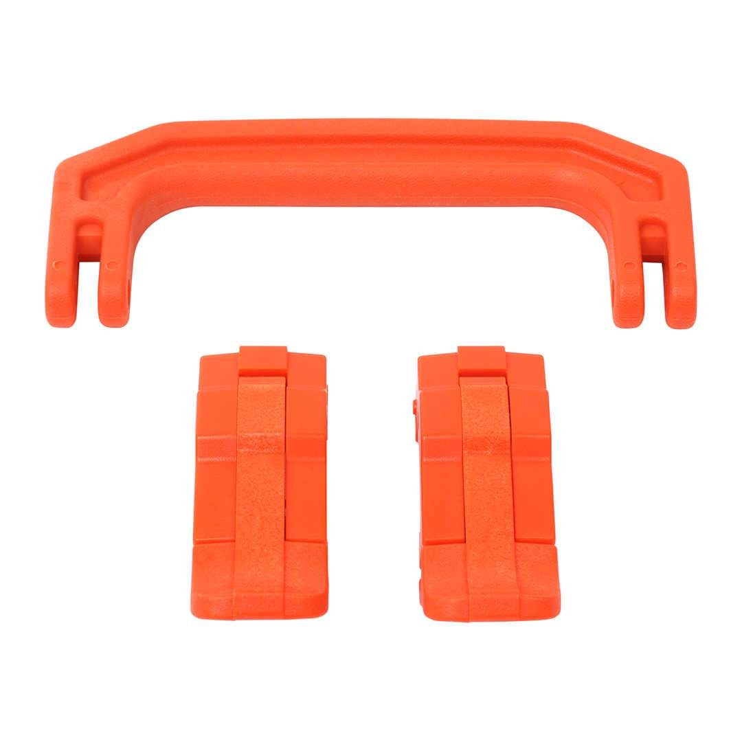 Orange Replacement Handle & Latches for Pelican 1170, One Orange Handle, 2 Orange Latches - Pelican Color Case
