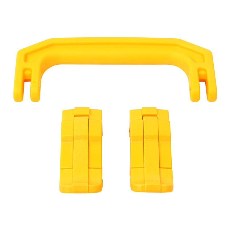 Yellow Replacement Handle & Latches for Pelican 1170, One Yellow Handle, 2 Yellow Latches - Pelican Color Case