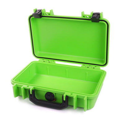 Pelican 1170 Case, Lime Green with Black Handle & Latches - Pelican Color Case