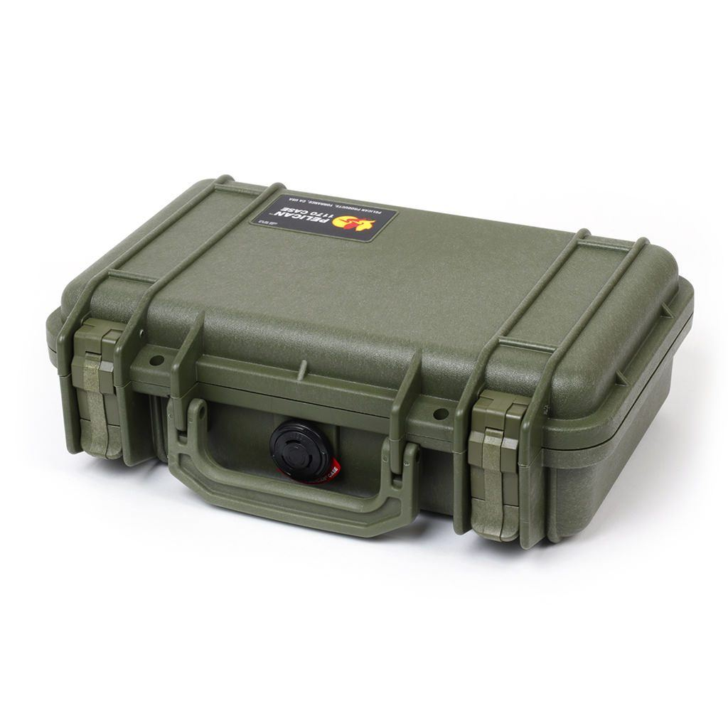 Pelican 1170 Case, OD Green - Pelican Color Case