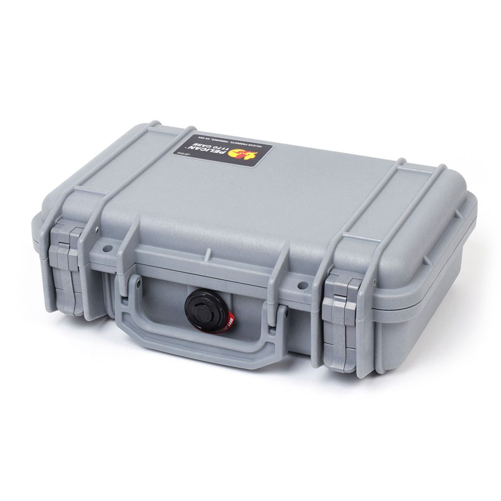 Pelican 1170 Case, Silver - Pelican Color Case