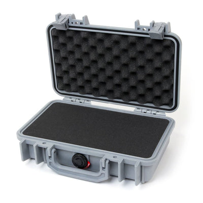 Pelican 1170 Protector Case, Silver Gray, Customizable Accessory Bundles - Pelican Color Case