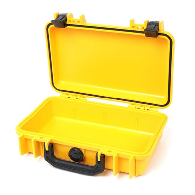 Pelican 1170 Colors Series, Yellow Protector Case with Black Handle & Latches, Customizable Accessory Bundles - Pelican Color Case