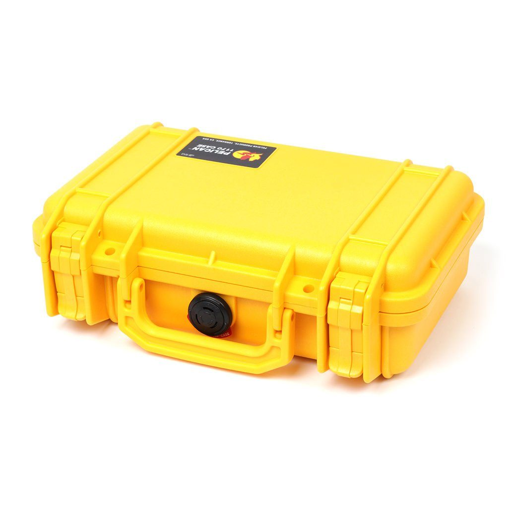 Pelican 1170 Case, Yellow