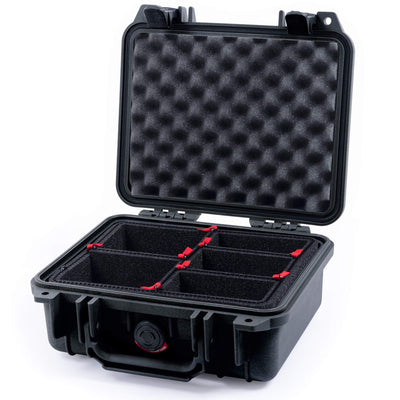 Pelican 1200 Case, Black - Pelican Color Case