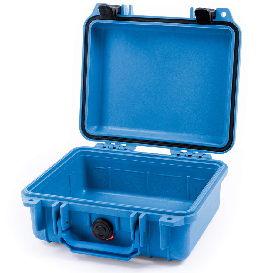 Pelican 1200 Case, Blue with Black Handle & Latches