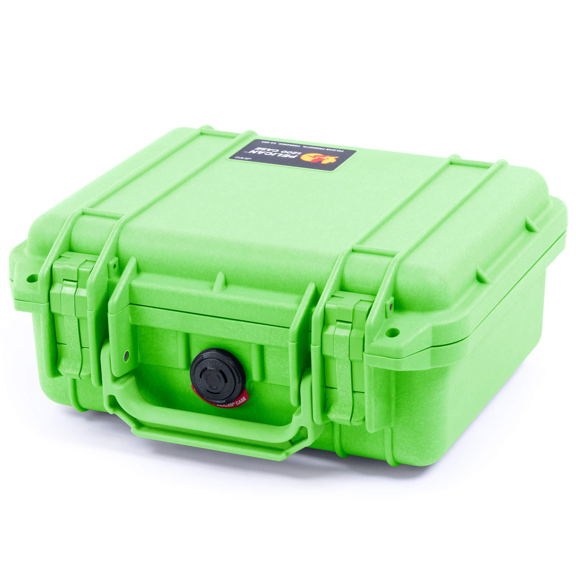 Pelican 1200 Case, Lime Green - Pelican Color Case