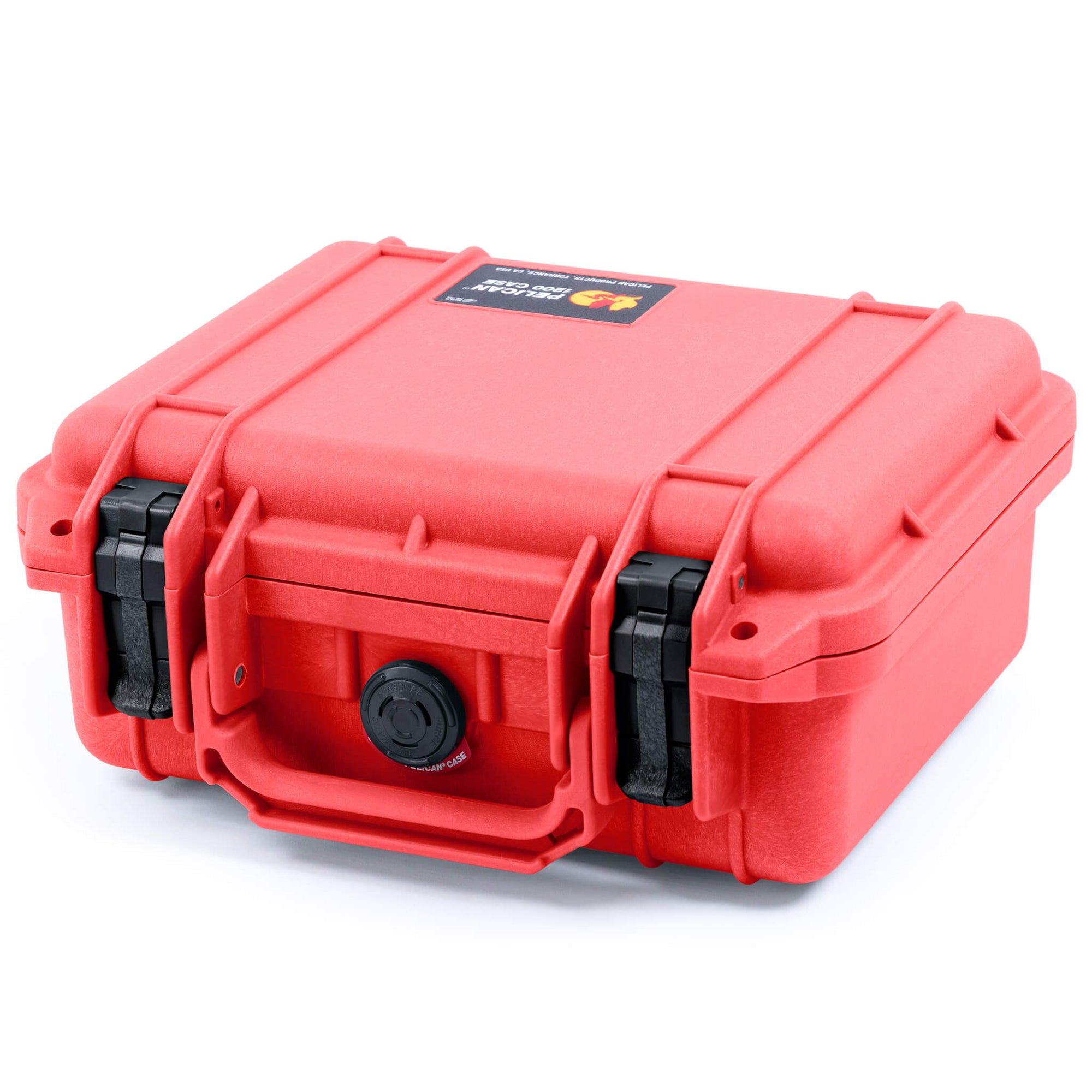 Pelican 1200 Case, Red with Black Handle & Latches - Pelican Color Case