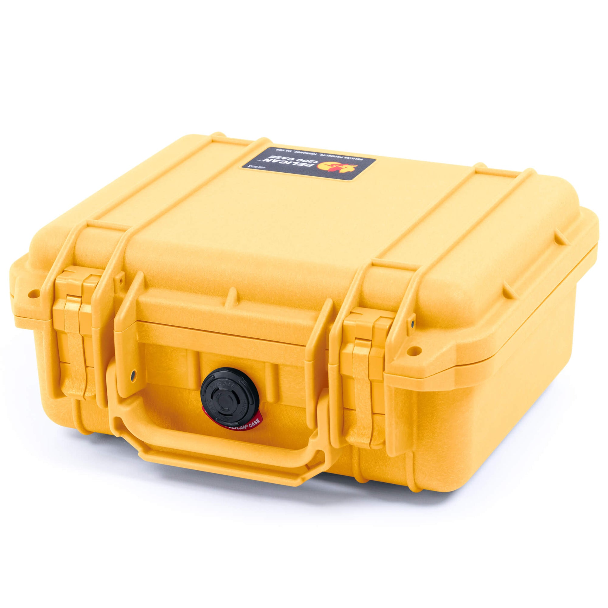 Pelican 1200 Case, Yellow