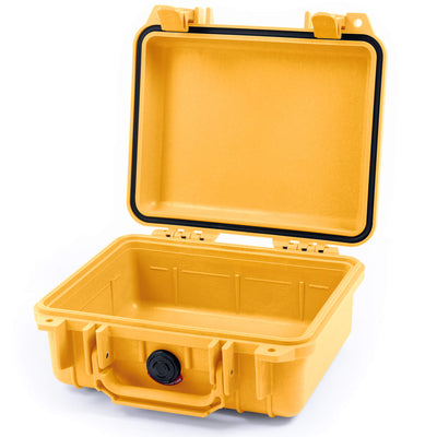 Pelican 1200 Case, Yellow - Pelican Color Case