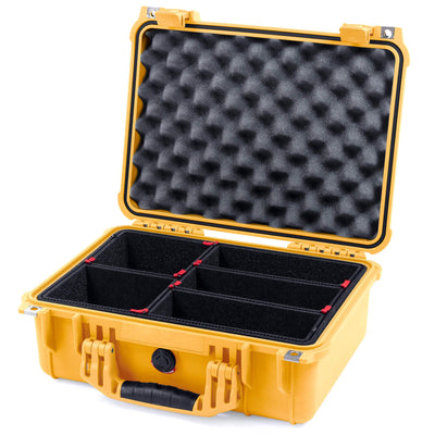 Pelican 1450 Protector Case, Yellow, Customizable Accessory Bundles - Pelican Color Case