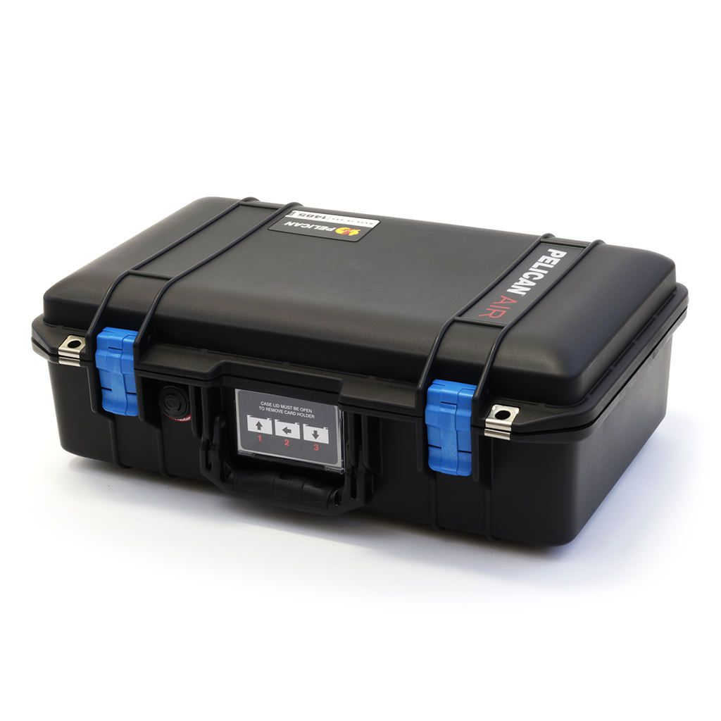 Silver /& Blue Pelican 1485 Air case with Trekpak dividers.