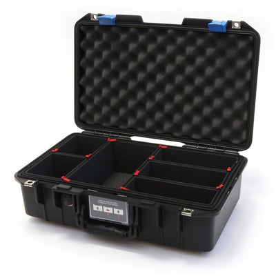 Pelican 1485 Air Case, Black with Blue Latches - Pelican Color Case