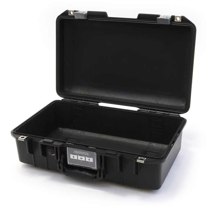 Pelican 1485 Air Case, Black with Silver Latches - Pelican Color Case
